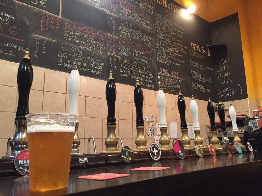 Tap List da BQ Birra Artigianale di Qualita