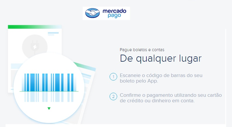 Pagamento de boletos via Mercado Pago