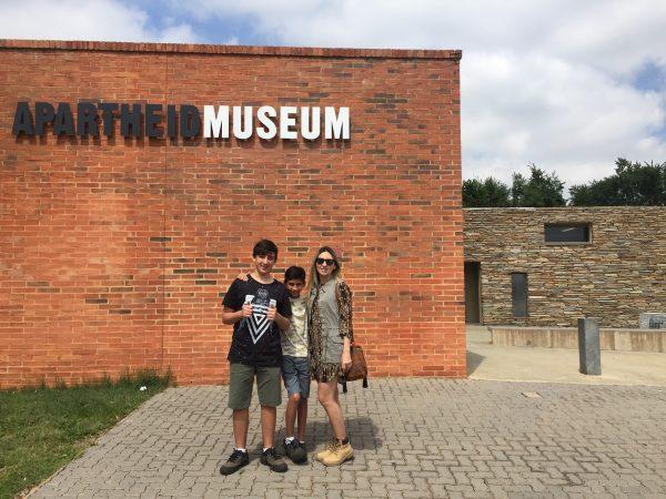 Entrada do Museu do Apartheid