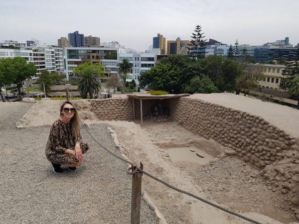 Huaca Huallamarca, Lima