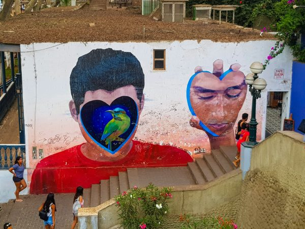 Grafites no Bairro Barranco