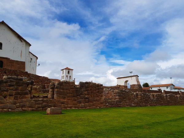 Mistura da arquitetura espanhola coma Inca
