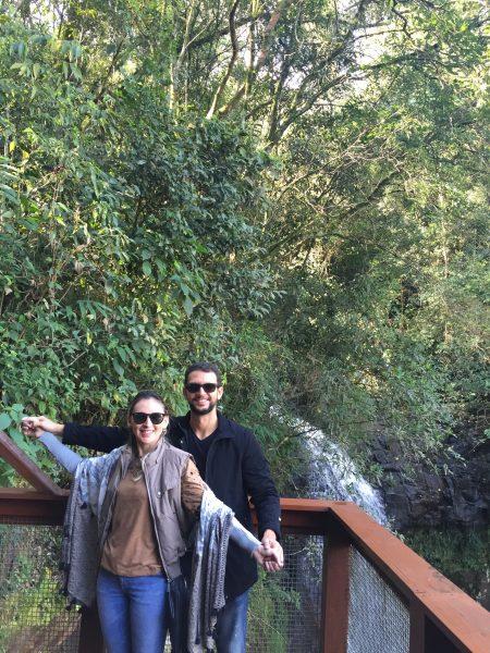 Deck no Parque Ecológico Flor do Vale