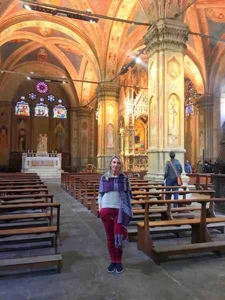 Interior da Igreja de Orsanmichelle