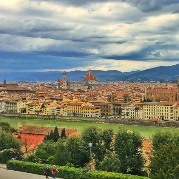 Vista de Florença, a partir de Piazzale Michelangelo