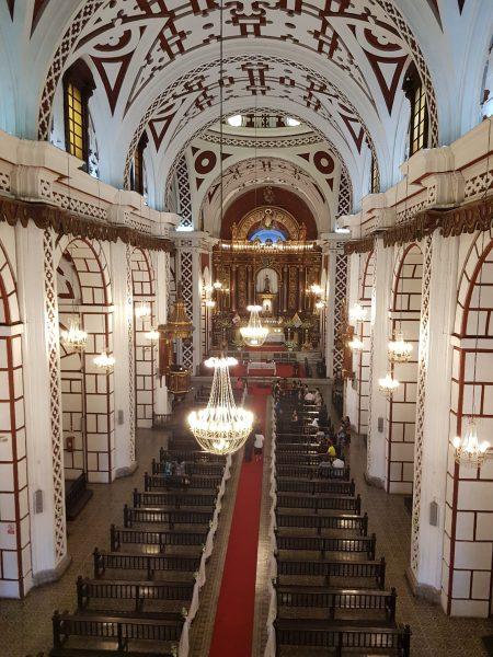 Igreja de São Francisco vista no passeio do Museu
