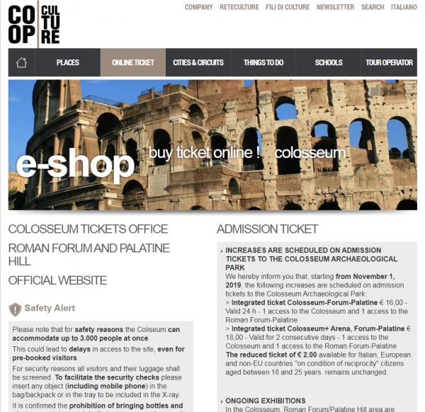 Página inicial do Site Oficial