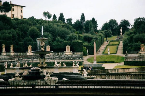 Jardins Boboli, em Florença. Foto: iitaly.org