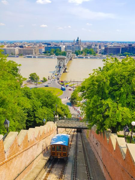 Funicular do Castle Hill, em Budapeste