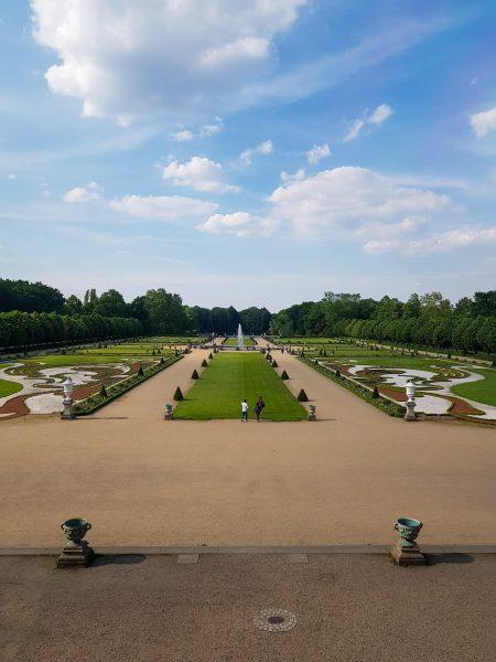 Jardim do Palácio de Charlottenburg, em Berlim