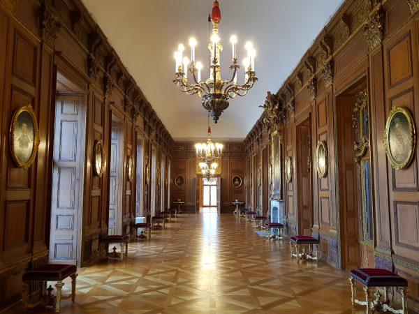 Galeria de Carvalho, Palácio de Charlottenburg
