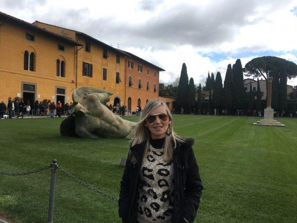 Entrada do Camposanto, em Pisa