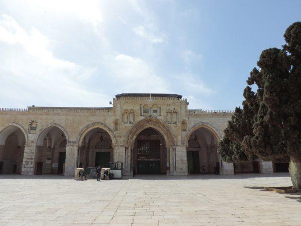 Mesquita de Al-Aqsa no Monte do Templo