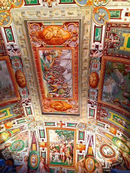 Afrescos do Palácio