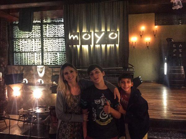 Entrada do Restaurante Moyo