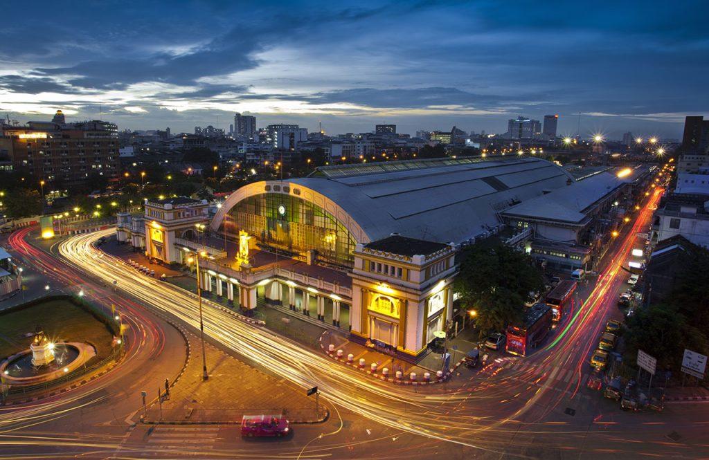 Estação de Trem Central de Bangkok (fonte: baolau.com)