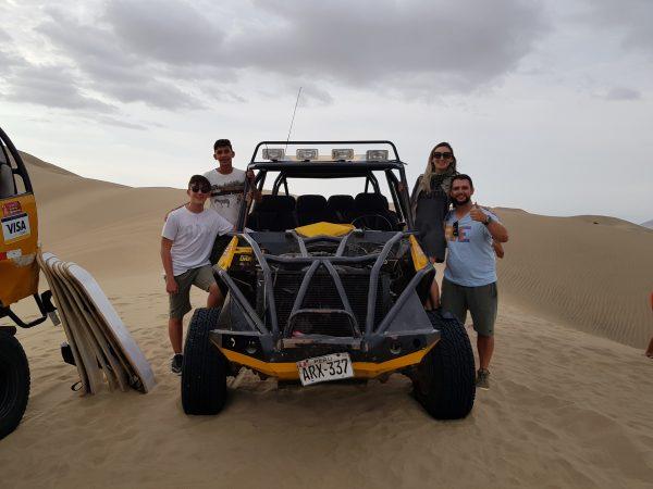 Tubular nas Dunas do Deserto