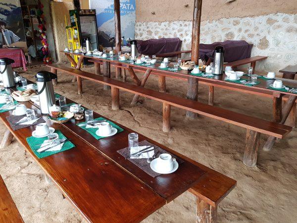 Refeitório do Café da Manhã