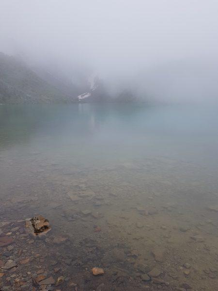 Laguna Humantay Nublada
