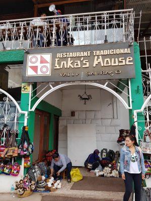 Entra do Restaurante Inka's House