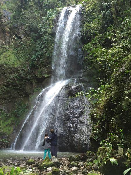 Cachoeira no Parque Ecológico Flor do Vale