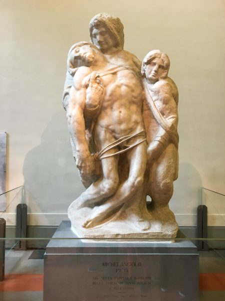 Pietà de Palestrina, de Michelangelo, de 1555