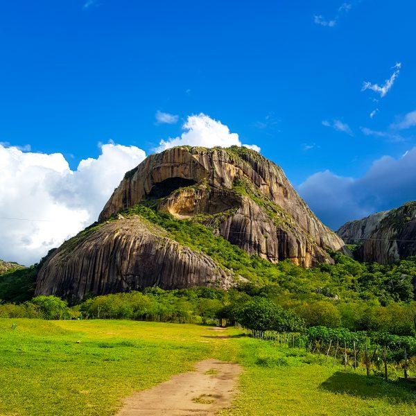 Pedra da Boca, em Araruna - PB