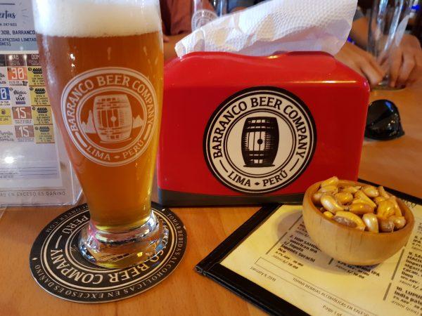 Cervejaria Barranco Beer, em Lima