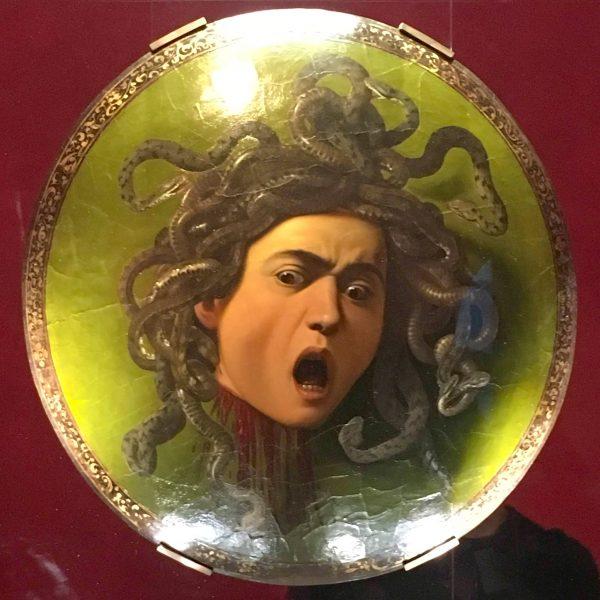 Medusa de Caravaggio, 1597