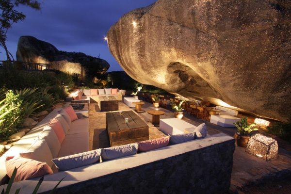 Restaurante na Pedra do Sapo, do Hotel Villas da Serra