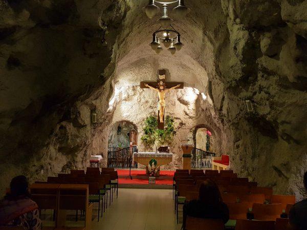 Igreja na Caverna, em Budapeste