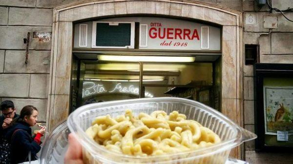 Pastifício Guerra. Foto: hihiguide.com https://stories.hihiguide.com/tag/food-drinks-in-rome/