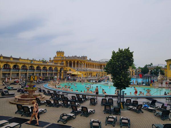 Termas Szechényi, em Budapeste