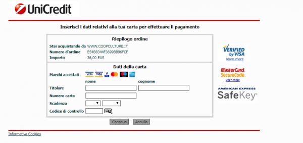 Preencha os dados do cartão de crédito