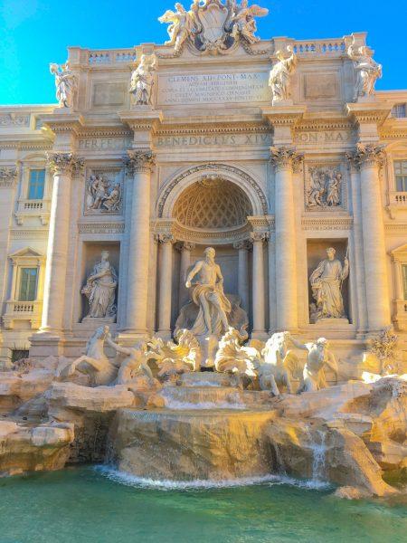 Fontana di Trevi, em Roma