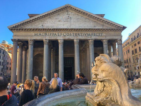 Panteão, no Centro de Roma