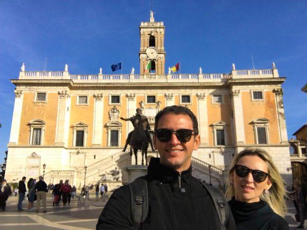 Piazza del Campigdolio, em Roma