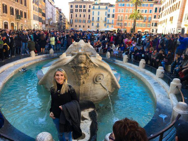 Piazza della Spagna, em Roma