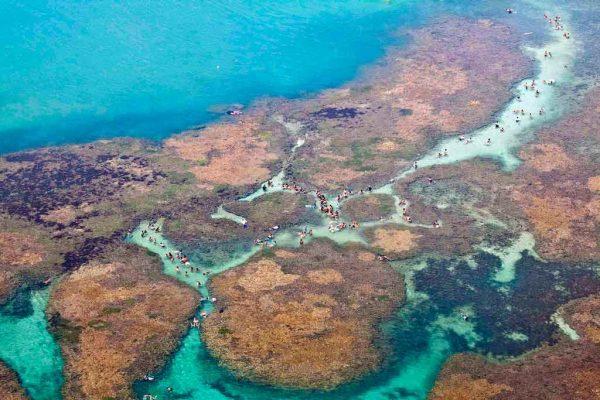 Picãozinho, 1km mar a dentro da Praia de Tambaú. (Foto: turismo.joaopessoa.pb.gov.br