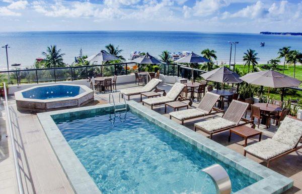 Atlântico Praia Hotel. (Foto Booking.com)